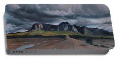 Storm Over The Superstitions Portable Battery Charger