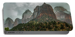 Storm Over Zion Portable Battery Charger