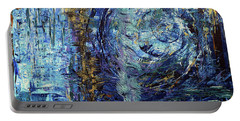 Storm Spirits Portable Battery Charger by Cathy Beharriell