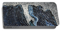 Storm Surfer Original Painting Sold Portable Battery Charger