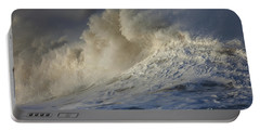 Storm Waves Portable Battery Charger by Mark Alder