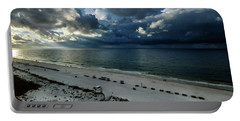 Storms Over The Gulf Of Mexico Portable Battery Charger