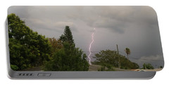Portable Battery Charger featuring the photograph Storms Rolling In by Vincent Billotto