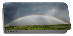 Stormy Rainbow Portable Battery Charger