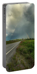 Portable Battery Charger featuring the photograph Stormy by Rose-Marie Karlsen