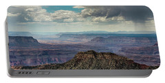 Portable Battery Charger featuring the photograph Stormy Sky Past Bridgers Knoll by Gaelyn Olmsted