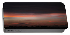 Portable Battery Charger featuring the photograph Stormy Sunset by Mark Dodd
