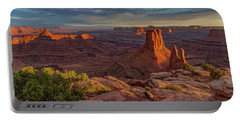 Stormy Sunset - Marlboro Point Portable Battery Charger