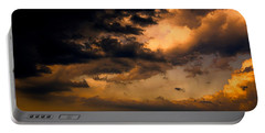Stormy Sunset Portable Battery Charger