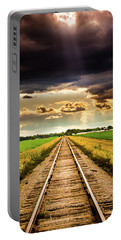 Stormy Tracks Portable Battery Charger