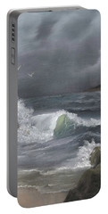 Stormy Waters Portable Battery Charger