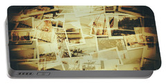 Storyboard Of Past Memories Portable Battery Charger