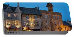 Portable Battery Charger featuring the photograph Stow On The Wold - Twilight by Brian Jannsen
