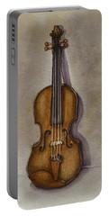Stradivarius Violin Portable Battery Charger