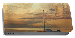 Portable Battery Charger featuring the photograph Stranded by HH Photography of Florida