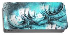 Portable Battery Charger featuring the digital art Strange Things by Anastasiya Malakhova