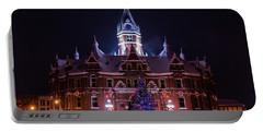 Stratford City Hall Christmas Portable Battery Charger