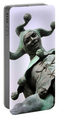 Stratford's Jester Statue Portable Battery Charger