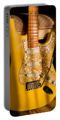 Stratocaster Plus In Graffiti Yellow Portable Battery Charger