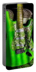 Stratocaster Plus In Green Portable Battery Charger