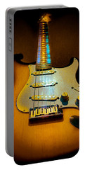 Stratocaster Tobacco Burst Glow Neck Series  Portable Battery Charger