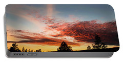 Stratocumulus Sunset Portable Battery Charger by Jason Coward