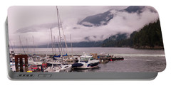 Stratus Clouds Over Horseshoe Bay Portable Battery Charger