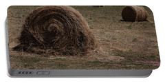 Straw Bales Portable Battery Charger
