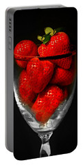 Strawberry Cocktail Portable Battery Charger
