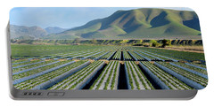 Portable Battery Charger featuring the photograph Strawberry Fields Forever by Floyd Snyder