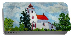 Strawberry Island Lighthouse, Manitoulin Island Portable Battery Charger
