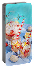 Strawberry Lemonade Portable Battery Charger