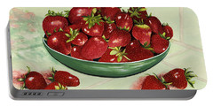 Strawberry Memories Portable Battery Charger
