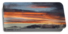 Streaky Sunset Portable Battery Charger
