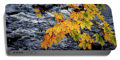 Stream In Fall Portable Battery Charger