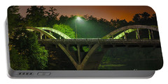 Street Light On Rogue River Bridge Portable Battery Charger