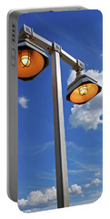 Street Lights, Blue Sky Portable Battery Charger