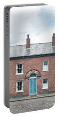 Street Of Working Class Terraced Houses Portable Battery Charger by Lee Avison