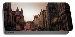 Streets Of Edinburgh Scotland  Portable Battery Charger