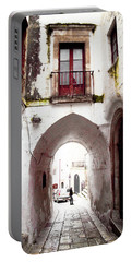 Streets Of Ostuni Portable Battery Charger