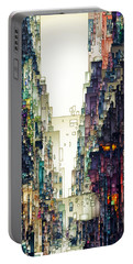 Streetscape 1 Portable Battery Charger by David Hansen