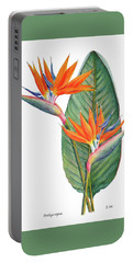 Strelitzia Reginae Bird Of Paradise Portable Battery Charger