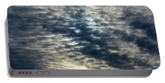 Striated Clouds Portable Battery Charger