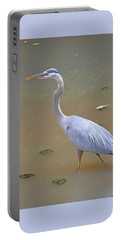 Portable Battery Charger featuring the photograph Strider by Kathy Kelly