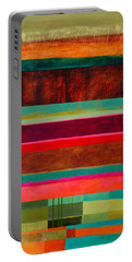 Stripe Assemblage 1 Portable Battery Charger