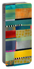 Stripe Assemblage 2 Portable Battery Charger
