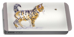 Stripey Creatures Portable Battery Charger