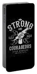 Strong And Courageous Portable Battery Charger