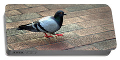 Strutting Pigeon Portable Battery Charger