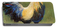 Strutting Rooster Portable Battery Charger